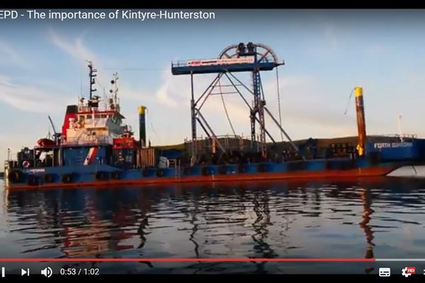 The  importance of Kintyre-Hunterston