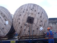 132kV Cable Drums